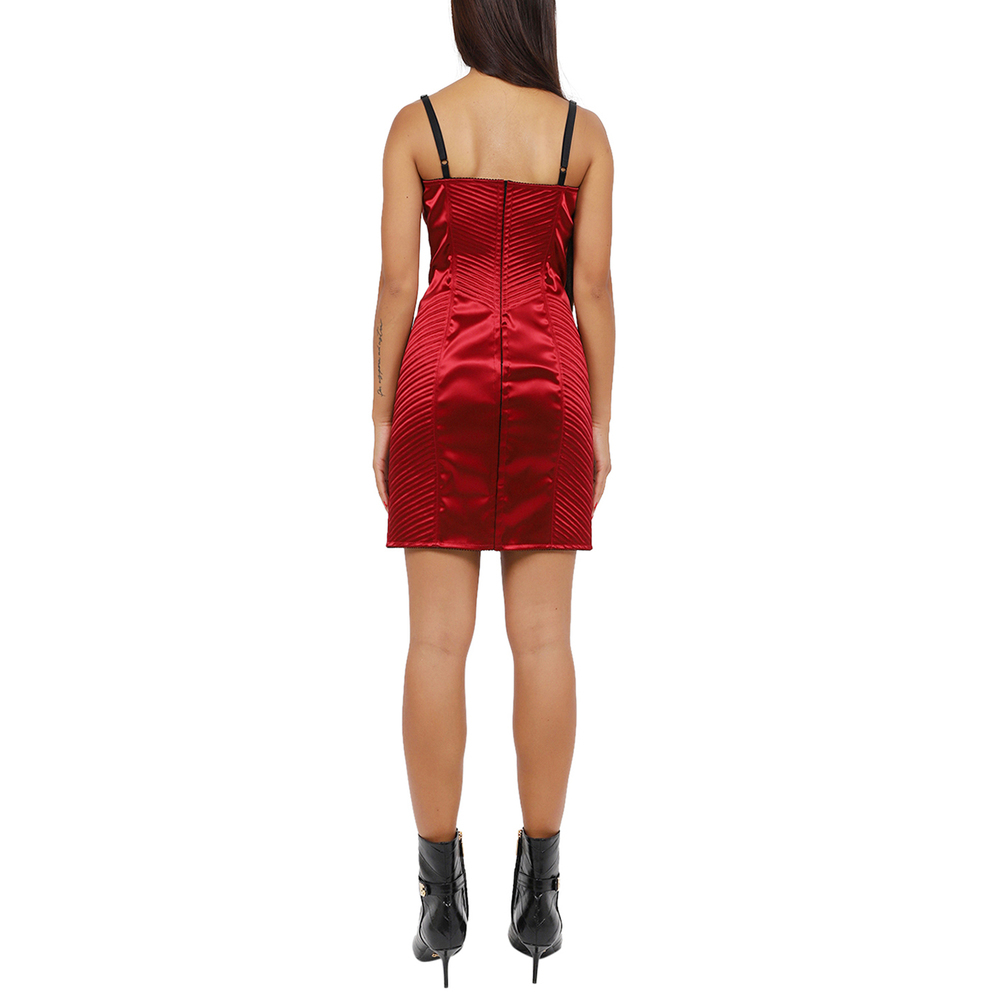 Dolce & Gabbana Red sleeveless Dress Dolce & Gabbana