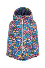 Winter jacket floral printed