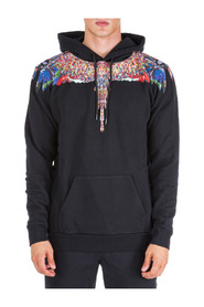 men's hoodie sweatshirt sweat multicolor wings