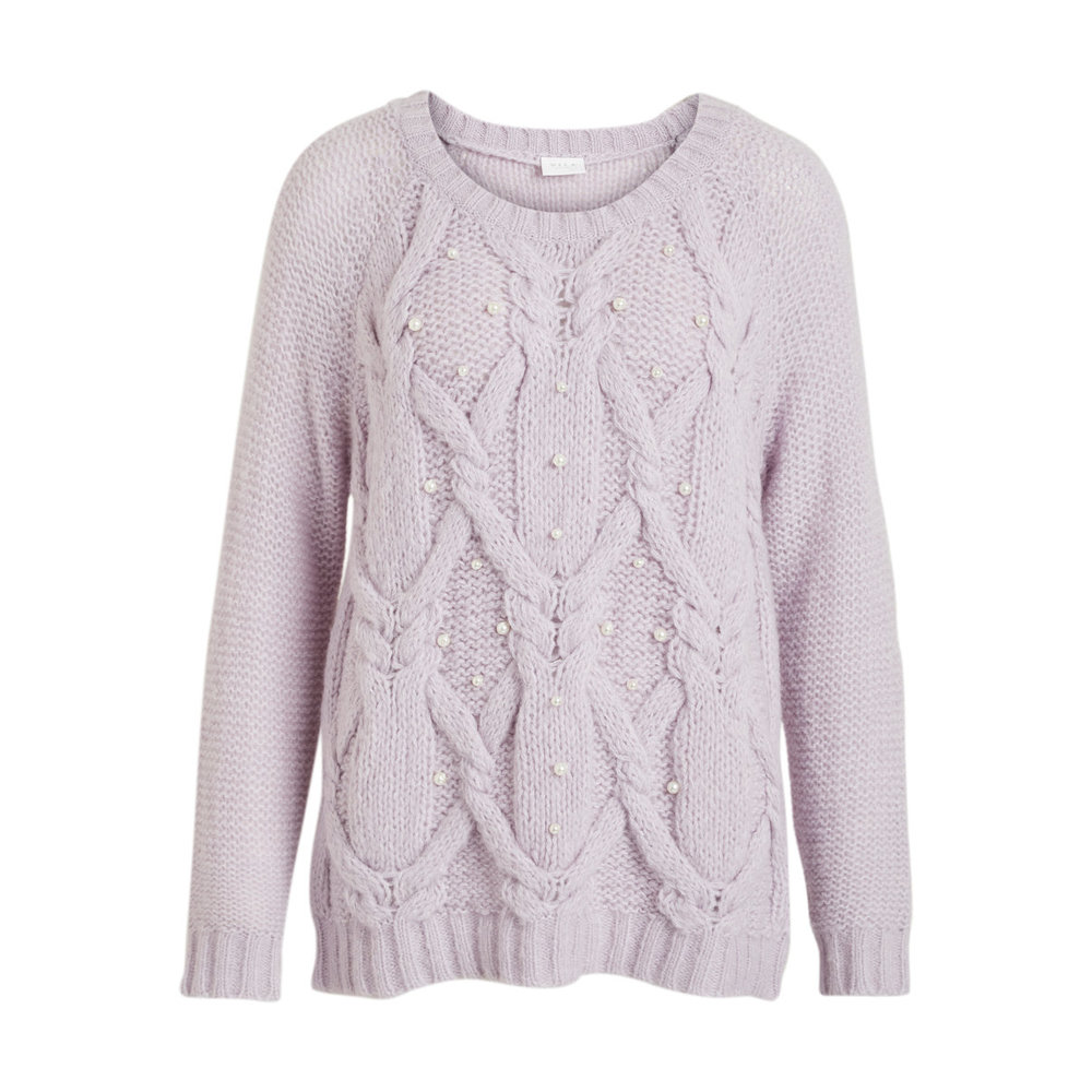 Knitted Pullover Pearl detail