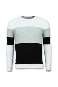 Sriped Sweater Heren