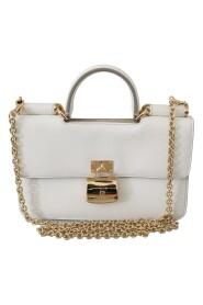 Hængelås Telefon Clutch Sicily Leather Bag