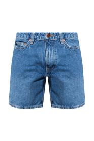 Denim shorts from organic cotton
