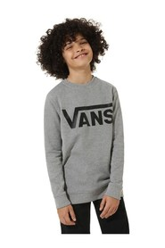 VANS VN0A36MZ CLASSIC CREW SWEATER Unisex Boys GREY HEATHER