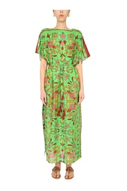 CAFTAN WITH FLORAL PATTERN
