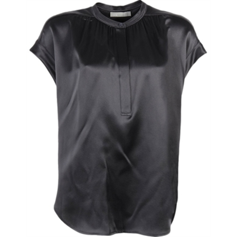 Vince Shirred Top