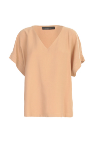 STRAIGHT V NECK 3 / 4S SHIRT