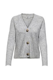 Stickad Cardigan Button