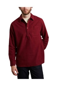 Flannel straight fit shirt