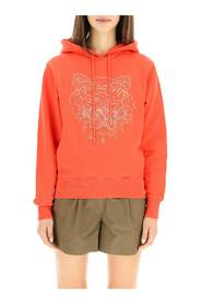 tiger embroidery hoodie