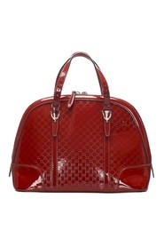 Microguccissima Nice Satchel Leather