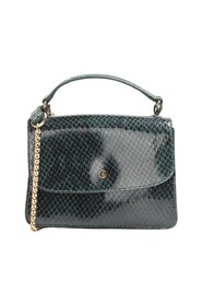 Freddie python effect leather bag