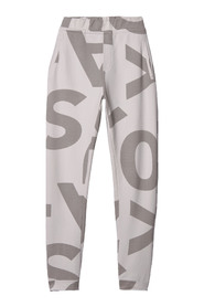10Days perfect jogger big logo silver white - 20-004-9103
