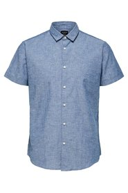 Short sleeved shirt Regular fit linen