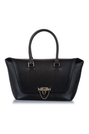 Demilune Leather Satchel