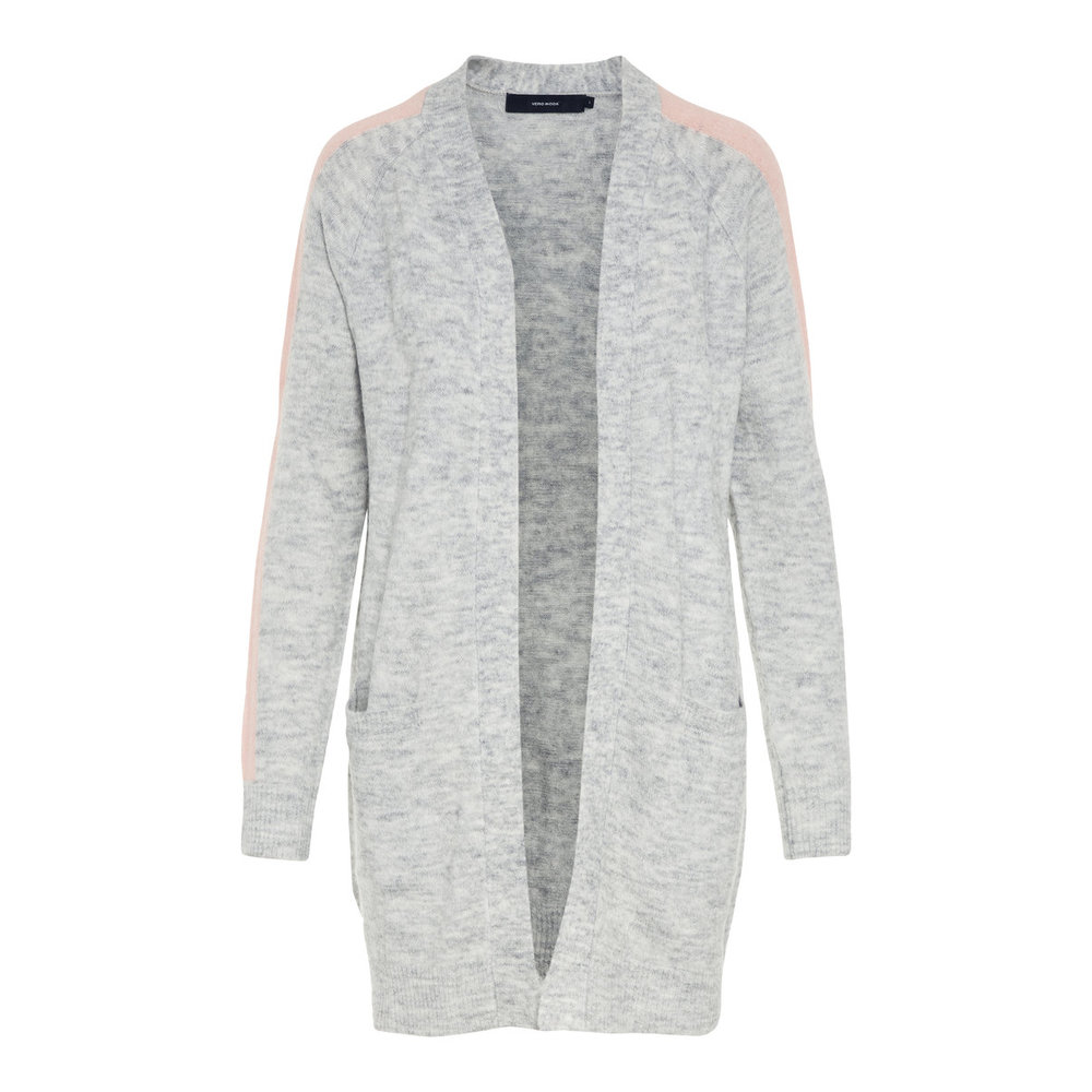Knitted Cardigan Front Open