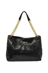 Quilted Leather Alexa Tote