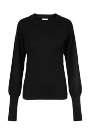 Sort Cathrine Hammel Base Crewneck Genser