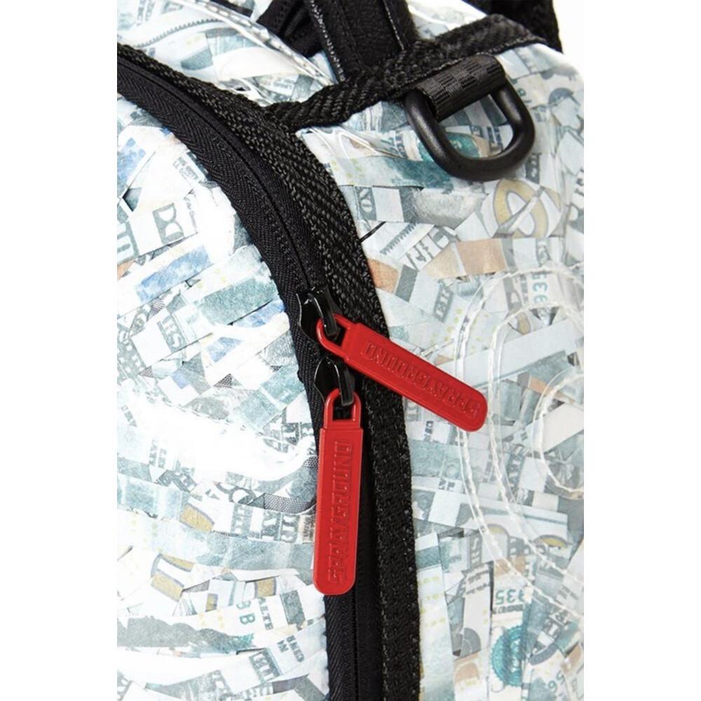 White Money Backpack   SPRAYGROUND   Plecaki - Najnowsza zniżka wN498
