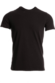 Hom T-Shirt O-Neck Stretch Zwart