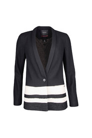 WOOL BLAZER W STRIPES