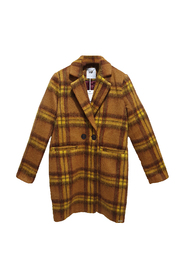 Maily checked winter jacket