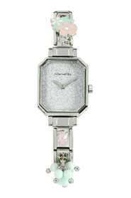 Plated Stainless Steel Composable Watch w/Crystals
