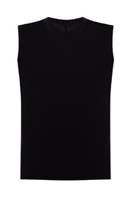 Raw edge tank top