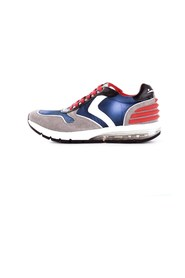 VOILE BLANCHE 2013914-01 Trainers Men GRAY / BLUE