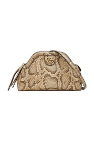 RE(BELLE) Python Small Shoulder Bag