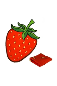 Beachtowel Strawberry