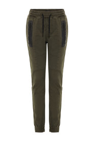 Twill Trousers regular fit drawstring
