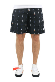 Allover Feathers Boardshorts