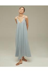 Sukienka trapezowa midi