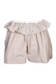 Shorts with Ruffles on the Waist