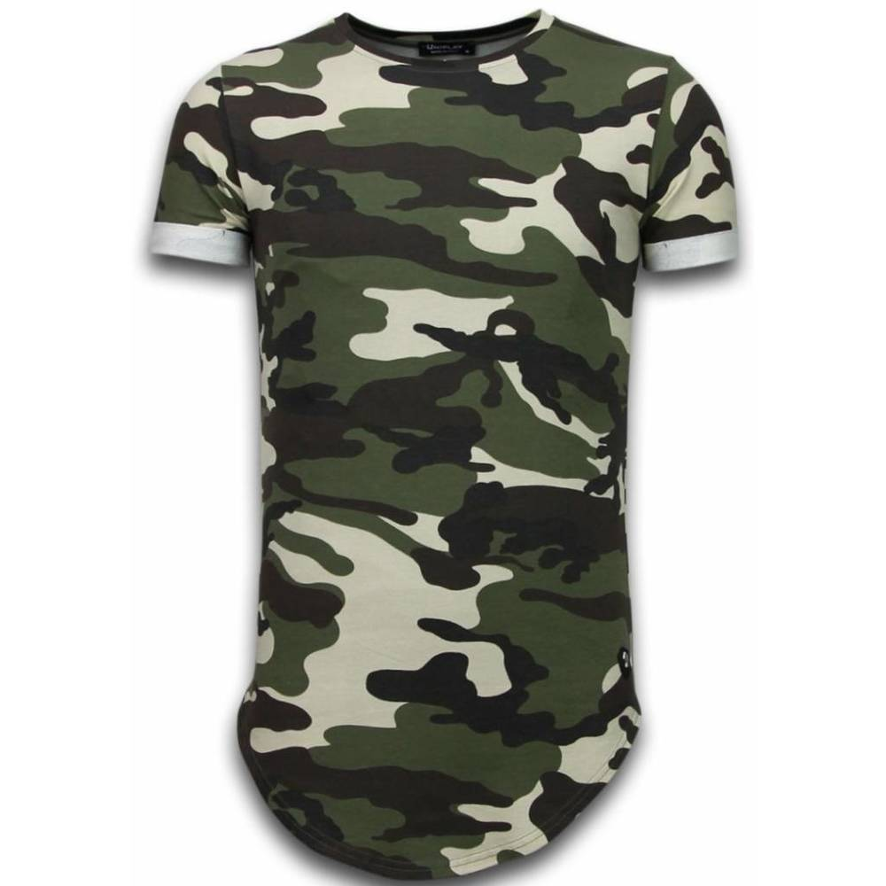 Long Fit Shirt Army