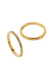 Z 2X Pave Ring Set A J Z Ring