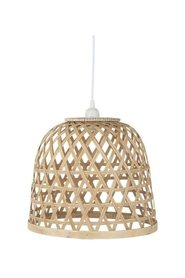 Hanging lamp in bamboo