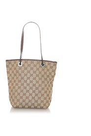 Pre-owned GG Canvas Tote Bag