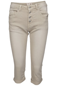 Chica London stretchcapri beige