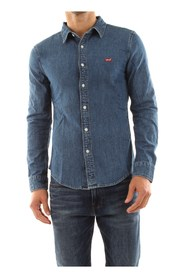 LEVIS 86625 0004 BATTERY SHIRT SHIRT Men DENIM MEDIUM BLUE