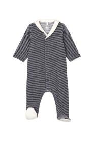 Stripy Sleepsuit