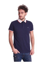 POLO WITH CONTRAST NECK