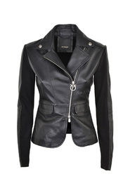 LEATHER / SWEATER NAIL JACKET