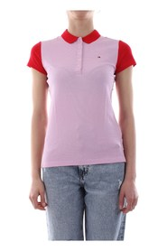 TOMMY HILFIGER WW0WW23706 NEW CHIARA POLO Women PINK