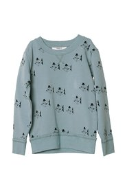 KNAST by KRUTTER - Mr Jolly Sweatshirt - Ocean