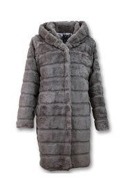 imitation Fur Coat Parka