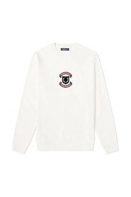 Autenk Broderet Shield Crew Sweat