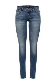 Skinny fit jeans Coral superlow