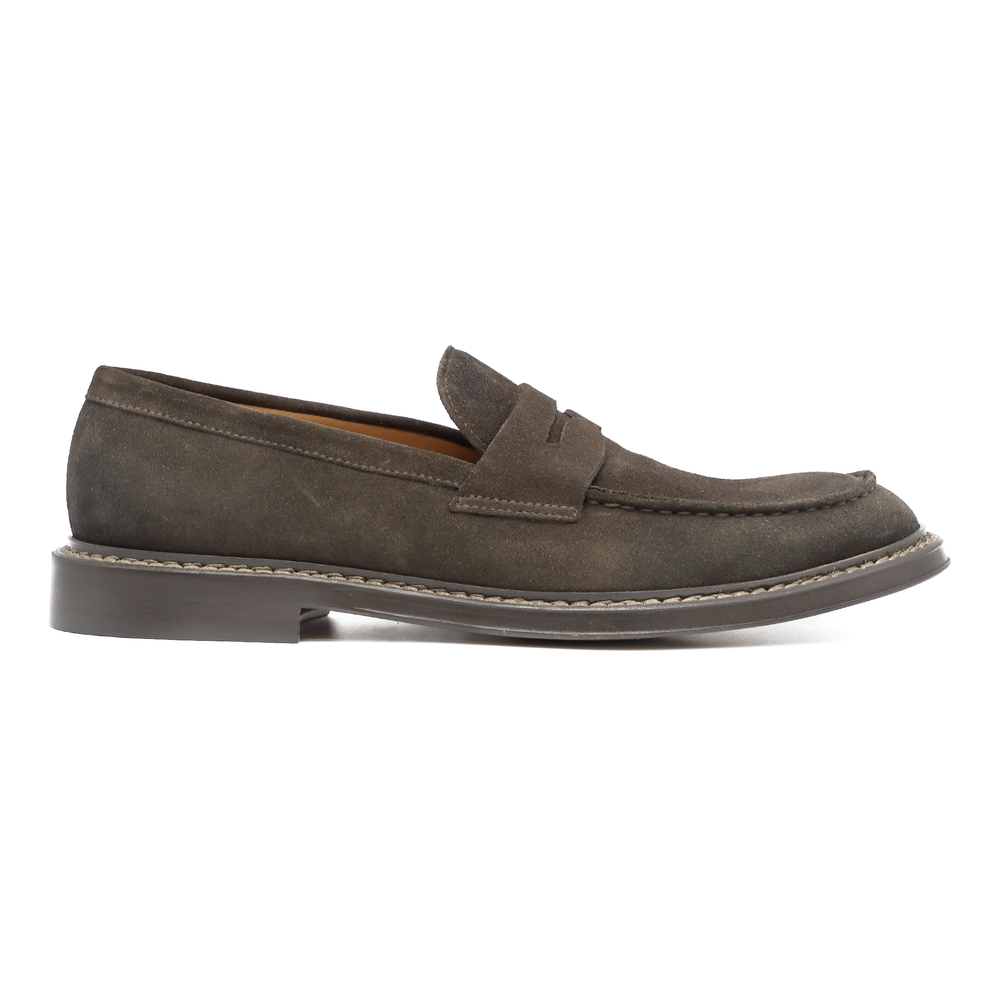 Brown Bokeh loafers | Doucals | Loafers | Men's shoes